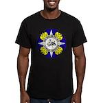 USS MILLER Men's Fitted T-Shirt (dark)