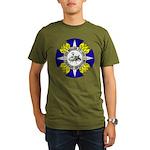 USS MILLER Organic Men's T-Shirt (dark)