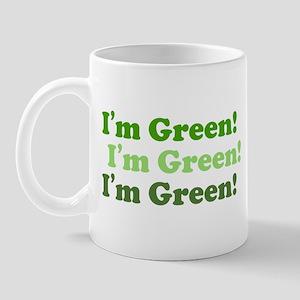 I'm Green! ECO Environment Mug