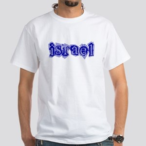 """Israel Blessing"""" White T-Shirt"