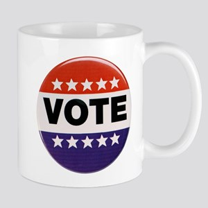 Get Out The Vote Button Mug