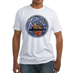 USS RAY Fitted T-Shirt