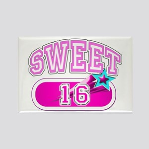 Sweet 16 b-day Rectangle Magnet