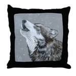 Snow Song: Throw Pillow