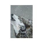 Snow Song: Rectangle Magnet (100 pack)