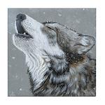 Snow Song: Tile Coaster
