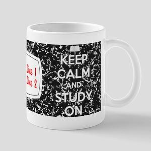 Keep Calm and Study On Mug