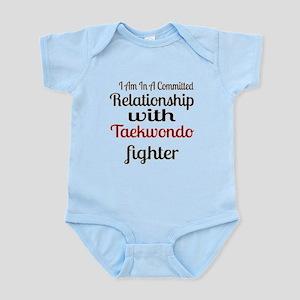 Relationship With Taekwondo Fi Baby Light Bodysuit
