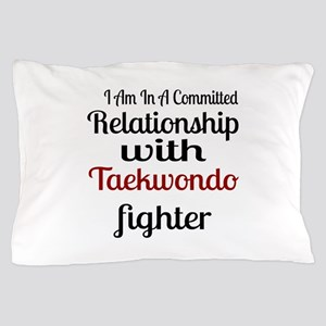 Relationship With Taekwondo Fighter Pillow Case