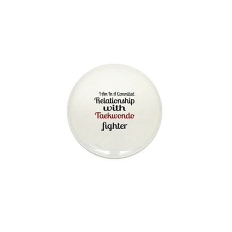Relationship With Taekwondo Mini Button (100 pack)