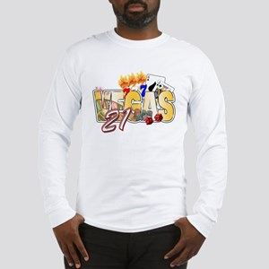 Vegas 21st Birthday Long Sleeve T-Shirt