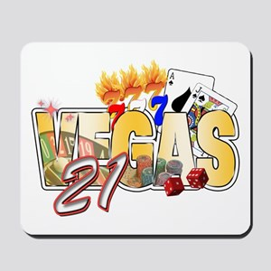 Vegas 21st Birthday Mousepad