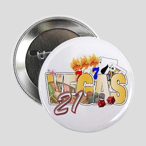 "Vegas 21st Birthday 2.25"" Button"