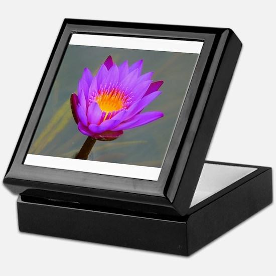 Lotus massage Keepsake Box
