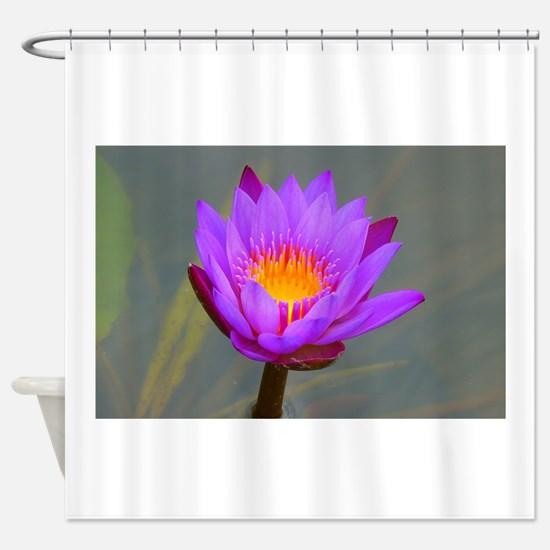 Cool Purity art Shower Curtain