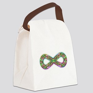 Infinity Psychedelic Symbol Canvas Lunch Bag
