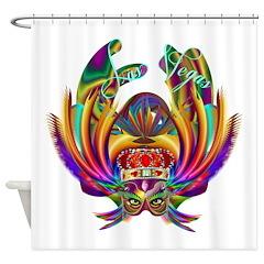 Vegas Queen 1 Shower Curtain