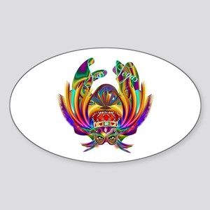 Vegas Queen 1 Sticker (oval)