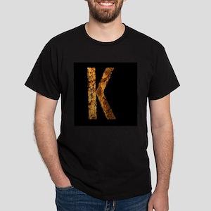 Typo Letter K T-Shirt