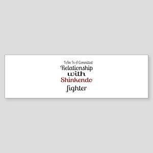 Relationship With Shinkendo Fight Sticker (Bumper)