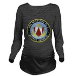 USS MITSCHER Long Sleeve Maternity T-Shirt