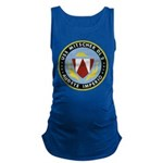 USS MITSCHER Maternity Tank Top