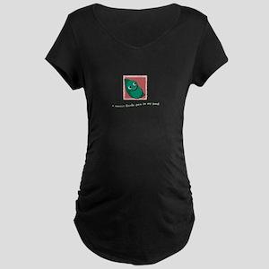 Sweet Pea Maternity Dark T-Shirt