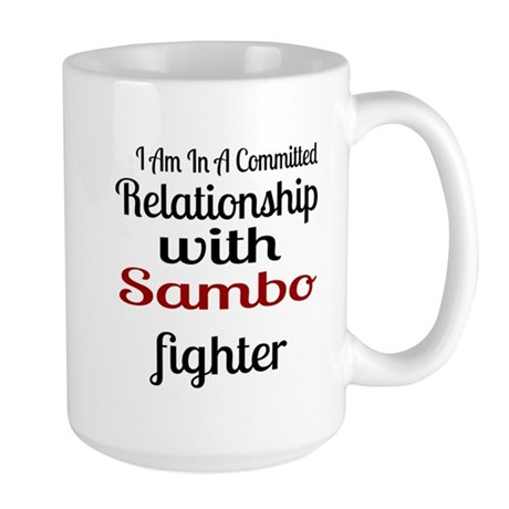 Relationship With Sambo F 15 oz Ceramic Large Mug
