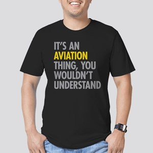 Its An Aviation Thing Men's Fitted T-Shirt (dark)