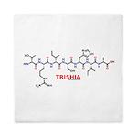 Trishia molecularshirts.com molecule Queen Duvet