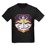 USS MITSCHER Kids Dark T-Shirt