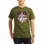 USS MITSCHER Organic Men's T-Shirt (dark)