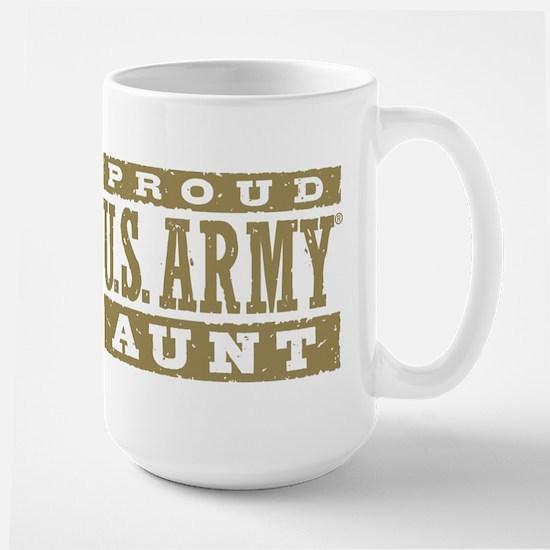 Proud US Army Aunt Large Mug