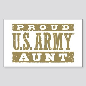 Proud US Army Aunt Sticker (Rectangle)