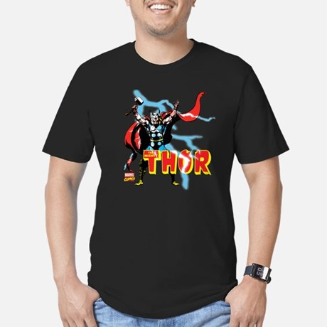 Thor Lightning Fitted T-shirt