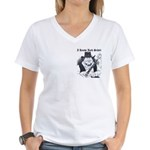 Women's V-Neck Schitty T-Shirt