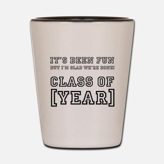 Graduation Year Personalize It! Shot Glass
