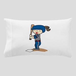 Girl Batter Pillow Case