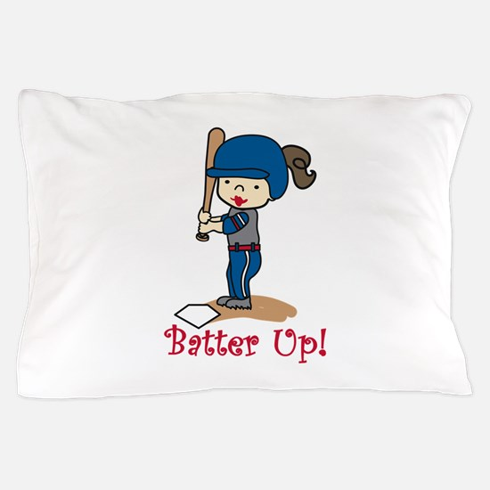 Batter Up! Pillow Case