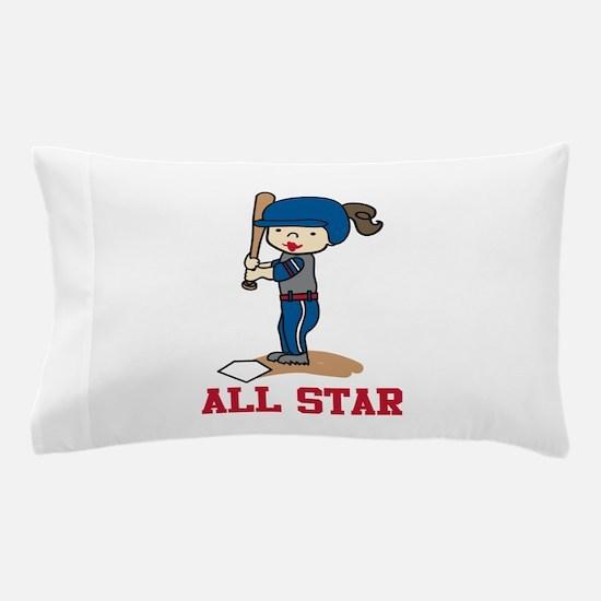 All Star Pillow Case
