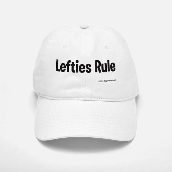 Lefties Rule Baseball Baseball Baseball Cap
