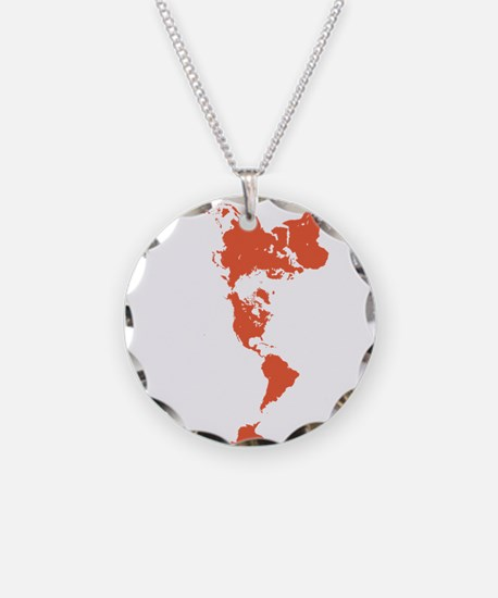 Upside down map jewelry upside down map designs on jewelry cheap new perspectives world map red necklace gumiabroncs Choice Image