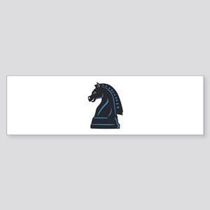 Chess Piece Knight Horse Bumper Sticker