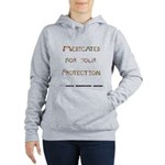 Medicated For Your Women's Hooded Sweatshirt