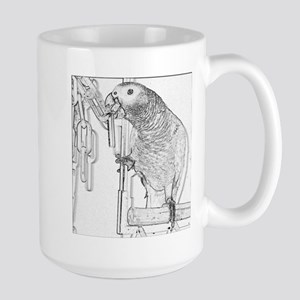 Congo African Grey Mugs