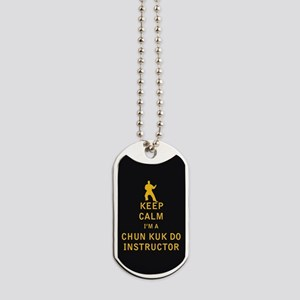 Keep Calm I'm a Chun Kuk Do Instructor Dog Tags
