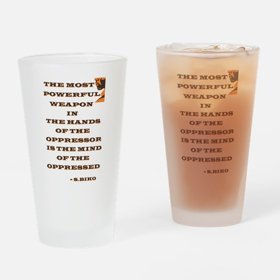 Civil Rights Drinking Glass