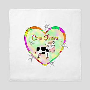 Cow Lover Queen Duvet