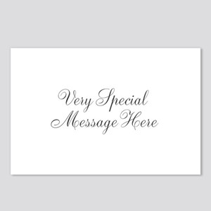 Very Special Message Here Postcards (Package of 8)