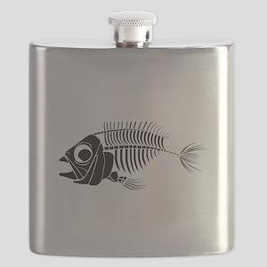 Boney Fish Flask